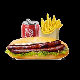 Menu Sandwich Merguez