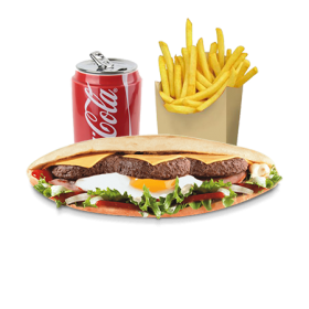 Menu Sandwich Triple Steaks