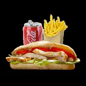 Menu Sandwich Escalope Boursin